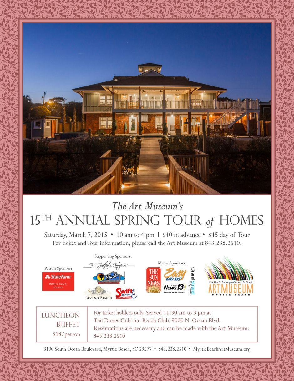 The Art Museum's 15th Annual Spring Tour of Homes